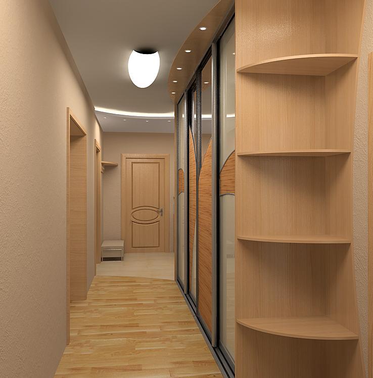 Маленькая прихожая в хрущевке  фото дизайна узкого коридора